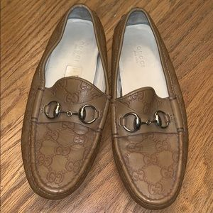 Authentic Leather Gucci Loafers